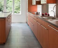 Types Of Kitchen Flooring Tile Types Of Flooring Using Modern Laminate Cabinet Using Grey