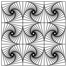 free printable coloring pages adults geometric diaet