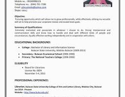 Resume About Me How To Write A Resume For A Part Time Job Haadyaooverbayresort Com