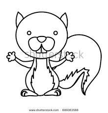 children coloring pagesbooka cute cat stock vector 562517374