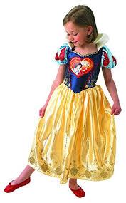 loveheart snow white girls fancy dress disney fairytale kids