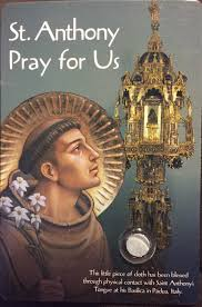 praying to saint anthony when something is lost