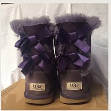 ugg bailey bow triplet sale 68 ugg other humpday sale purple bailey bow uggs from