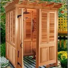 How To Build An Outdoor Shower Enclosure - 21 best an outdoor shower images on pinterest outdoor showers