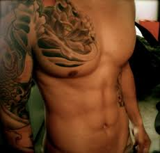 chest shoulder arm well high definition tattoos