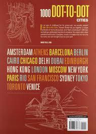 amazon com 1000 dot to dot cities 8601419694792 thomas