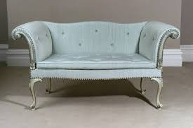Chippendale Loveseat Chippendale Design And Period Antique Small Sofa In Venetian Style