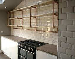kitchen wall shelves ideas kitchen wall shelving cfresearch co