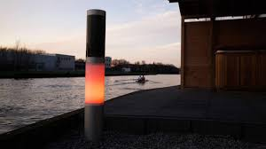 solar powered pillar lights top 67 dandy outdoor pillar lights solar spot led post powered