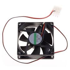 computer power supply fan 8cm fan dc 12v computer cpu fan power supply fan 45cm cable