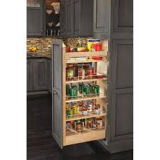 cabinet pull out shelves kitchen pantry storage rev a shelf 59 25 in h x 14 in w x 22 in d pull out wood