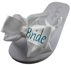 wedding flip flops flip flops sandals for brides bridesmaid and bridal party