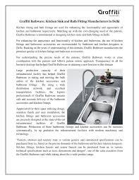 graffiti bathware kitchen sink and bath fitting manufacturers in
