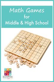 math games for middle u0026 high