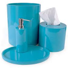 bathroom accessories turquoise interior design
