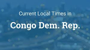 Dr Congo Flag Current Local Time In Congo Democratic Republic