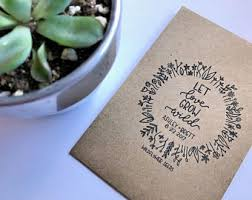 personalized seed packets custom seed packets etsy