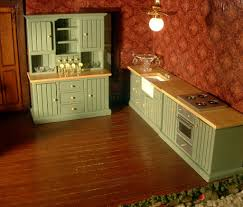 Kitchen Dollhouse Furniture by My Dream Dollhouse My Country Kitchen Set