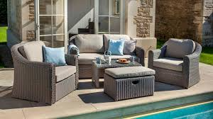 Bali Rattan Garden Furniture by Bali Lounge Set Bali Weave Garden Furniture Hartman Outdoor