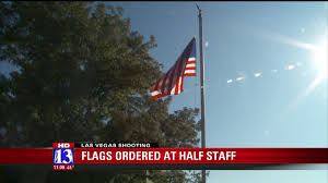 Flying The Flag At Half Staff Gov Gary Herbert Orders Flags To Half Staff For Las Vegas