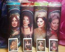 designing women candle set of 4 suzanne julia mary jo and