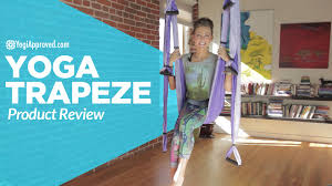 yoga trapeze arial yoga product review youtube
