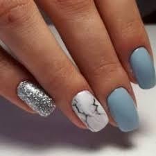 light blue nails the best images bestartnails com