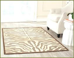 Zebra Area Rug 8x10 Cool Zebra Print Area Rug Chic Patterned Animal Print Area Rugs