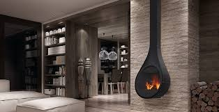wood burning wall wood burning fireplace contemporary closed hearth wall