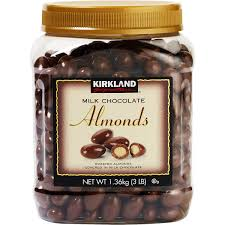 kirkland signature chocolates milk chocolate almonds 48 oz