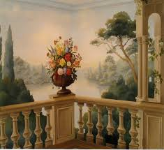 classic painted wall mural decorative painted walls pinterest classic painted wall mural