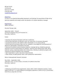 Pta Resume Examples by Physical Therapy Resume Top Free Resume Samples U0026 Writing Guides