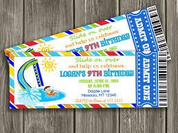 pool party ticket invitation template u2013 orderecigsjuice info