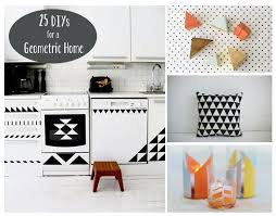 geometric home decor triangles squares rectangles and all other geometric shapes are