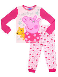 amazon peppa pig girls u0027 peppa pig pajamas clothing