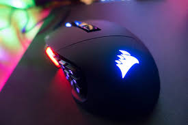 light up gaming mouse pad corsair scimitar pro rgb gaming mouse review