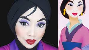 makeup guru creates the most beautiful disney inspired looks with