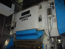 minster ec 100 ql conversion press cazander bros u0026 sis