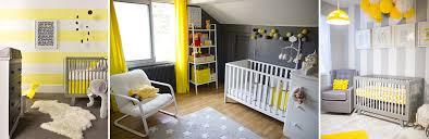 chambre bébé pratique dcorer chambre bb deco chambre bebe jaune et gris decoration jaune