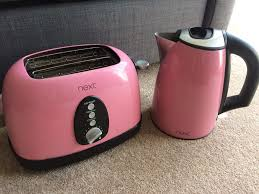 Red Kettle And Toaster Pink Toaster Kenwood Kmix Boutique Kettle And 2 Slice Toaster Pink