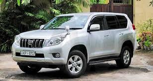 toyota land cruiser 150 series rent car sri lanka 4wd vehicles for hire in sri lanka