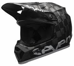 bell motocross helmets bell mx 9 mips seven checkmate matte black helmet xtremehelmets com