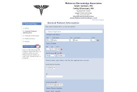 new patient registration process patientstudio form template word