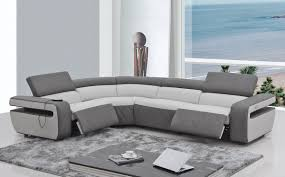 Reclining Modern Sofa Fancy Modern Reclining Sofa 58 In Sofas And Couches Set With