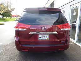 toyota awd used 2013 toyota sienna limited awd for sale in sherwood oregon