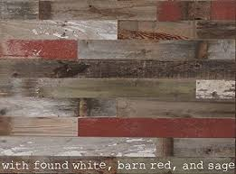 box of 20 square reclaimed wood wall paneling diy asst 3