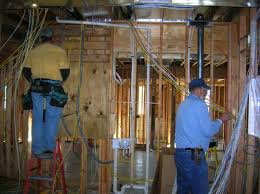 electrical rough in in process forner lavoy