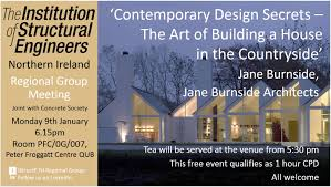 house architect jane burnside delivers lecture to the concrete