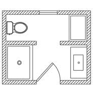 bathroom floorplans floor plan options bathroom ideas planning bathroom kohler small