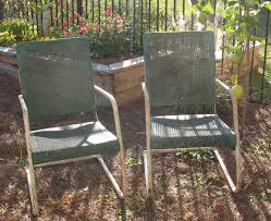 Retro Outdoor Furniture by Clean Vintage Retro S S Webbed Aluminum By Score With Inspiration